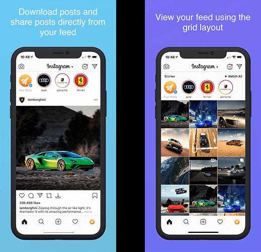 تحميل تطبيق انستقرام روكيت instagram rocket للايفون احدث اصدار 2020 1