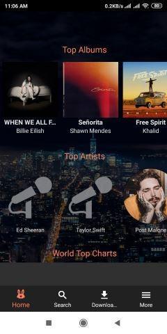 تحميل برنامج Fildo برنامج تنزيل أغاني من اليوتيوب 2
