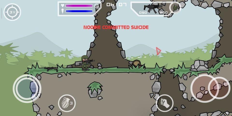 تحميل لعبة Mini Militia القديمة مجانا للاندرويد 2