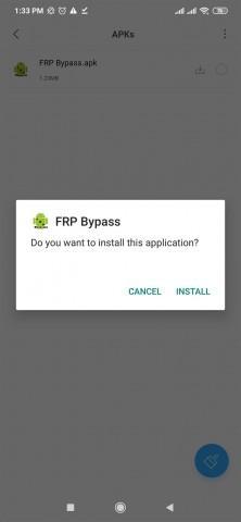 تنزيل تطبيق FRP Bypass للاندرويد 2020 1