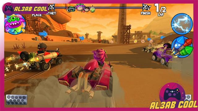 تحميل لعبة سباق السيارات الجميلة جدا Beach Buggy Racing MOD اصدار 2021 كاملة 1