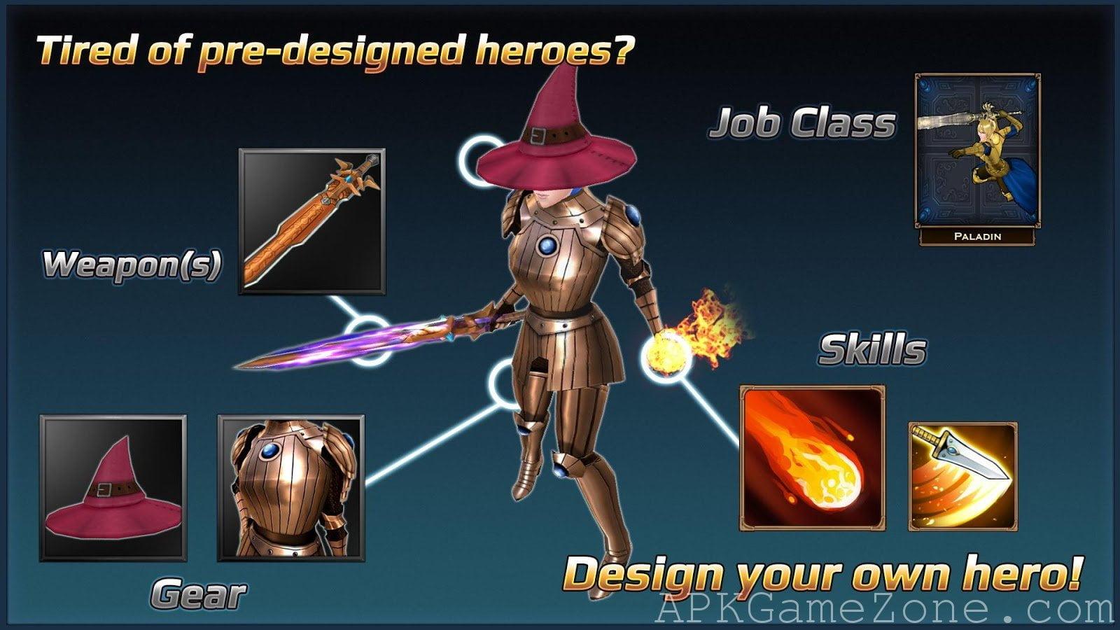 تحميل العبة الجميلة Chrono Clash MOD APK اصدار 2021 كاملة 1