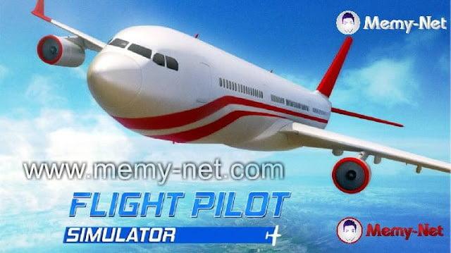 تحميل لعبة الطائرات الجميلة Flight Pilot Simulator اخر اصدار 2021 1