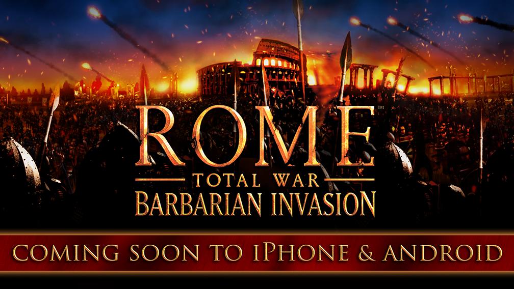 تحميل العبة الاسترتيجية ROME Total War – Barbarian Invasion APK اصدار 2021 كاملة 1