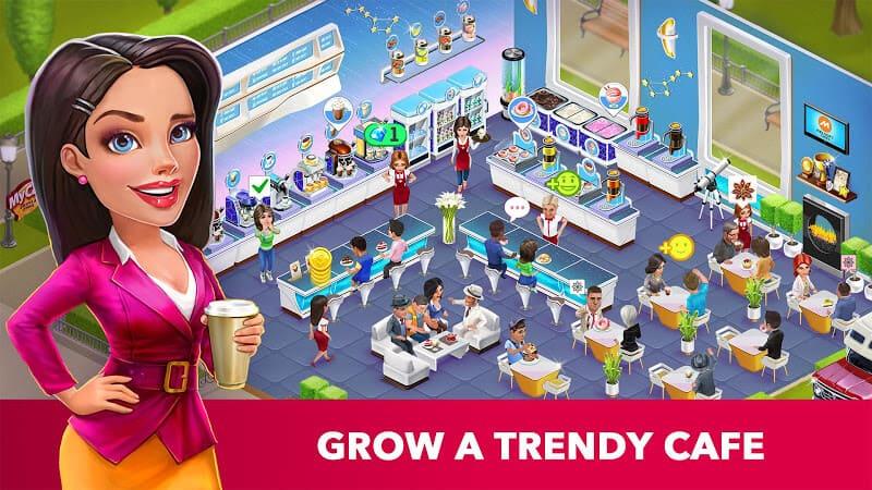 تحميل لعبة ادارة الكافية الشهيرة My Cafe اصدار 2021 كاملة 2