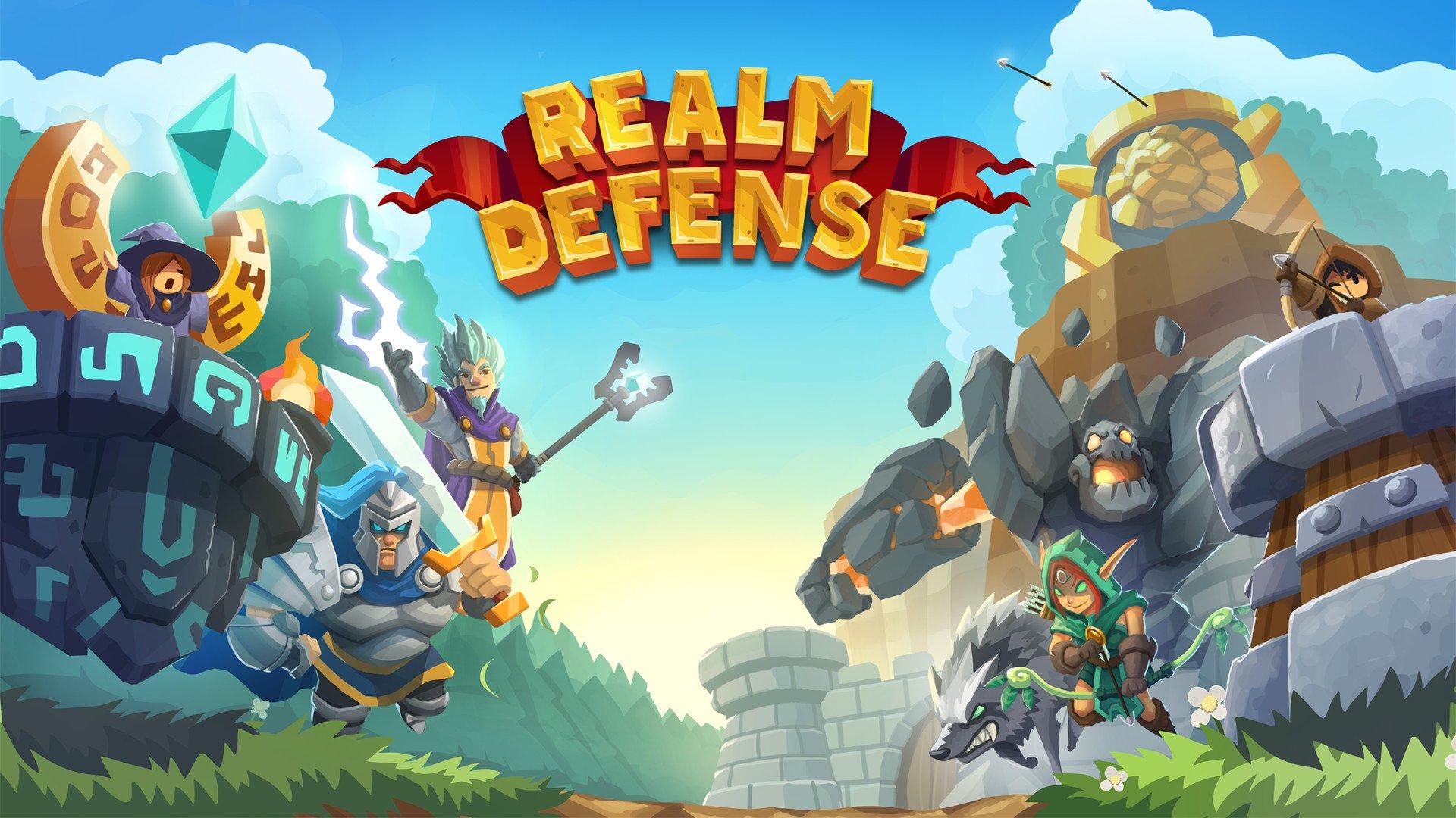 تحميل العبة الجميلة Realm Defense اصدار 2021 كاملة 1
