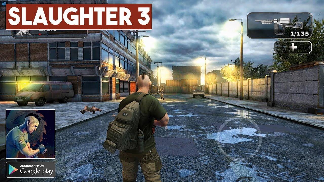 تحميل لعبة المغامرة الجميلة Slaughter 3 The Rebels MOD اصدار 2021 كاملة 2