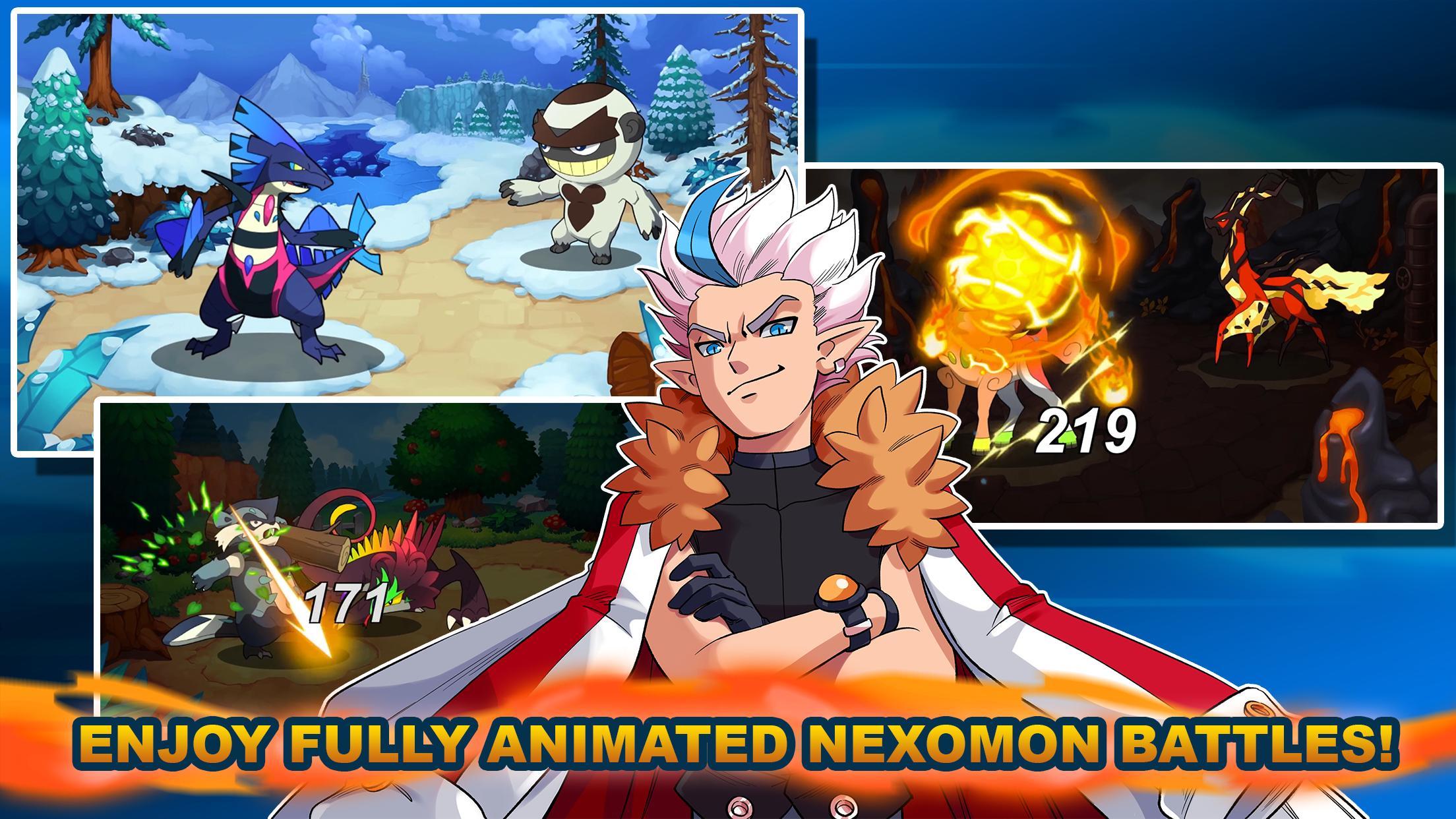 تحميل العبة الجميلة Nexomon APK اصدار 2021 كاملة 1